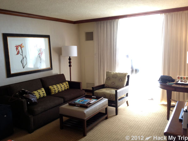 picture inside hotel room