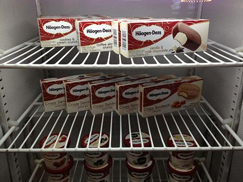 picture of ice cream treats in freezer