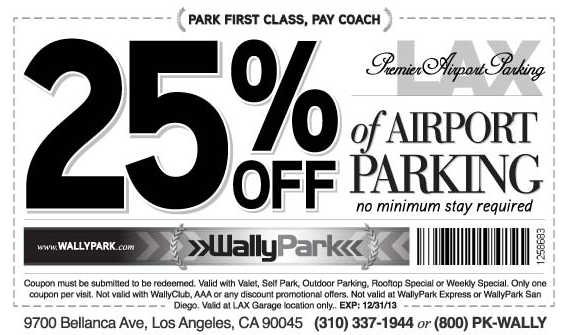 Wally park coupon code