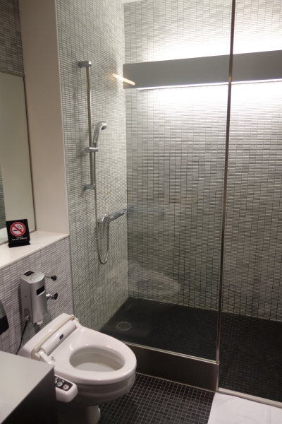 ANA shower room (similar ones in Business lounge)