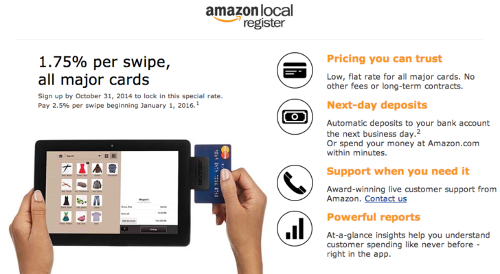 Amazon Local Register 2