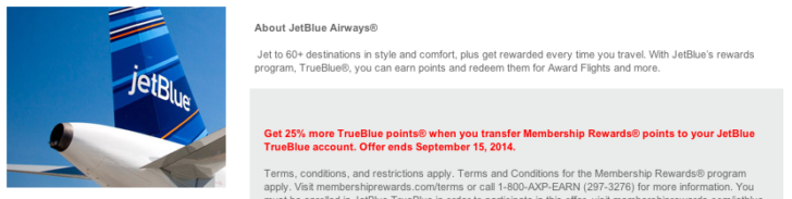 MR JetBlue bonus
