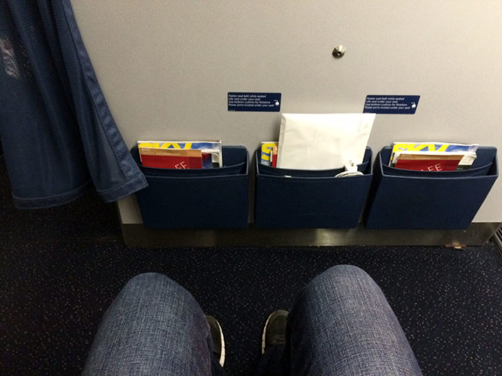 Delta Comfort Plus lots of legroom