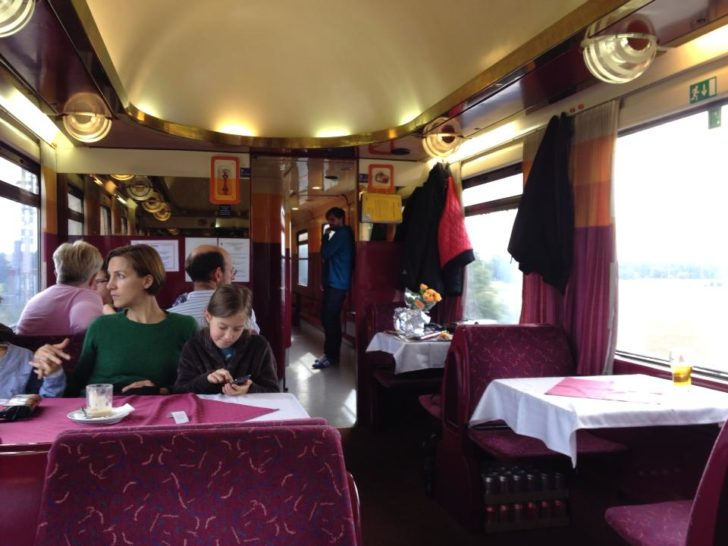 "This ex-Soviet era train was beautiful, hanging out in the dining car made the trip that much more enjoyable - almost having an ""Orient Express"" feeling"