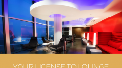 Virgin America Elevate Gold Members Get Free Lounge Access (to the one lounge they have)
