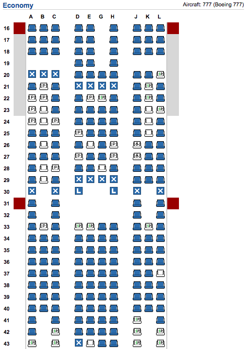 Never Use A Seat Map To Estimate How Full Your Flight Is