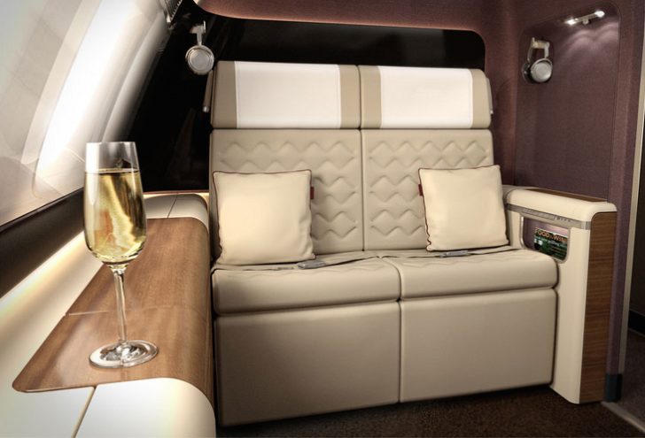 New Singapore Airlines first class