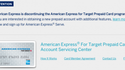 Amex Is Discontinuing Target Prepaid Cards