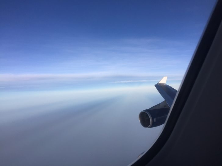 Over Africa!