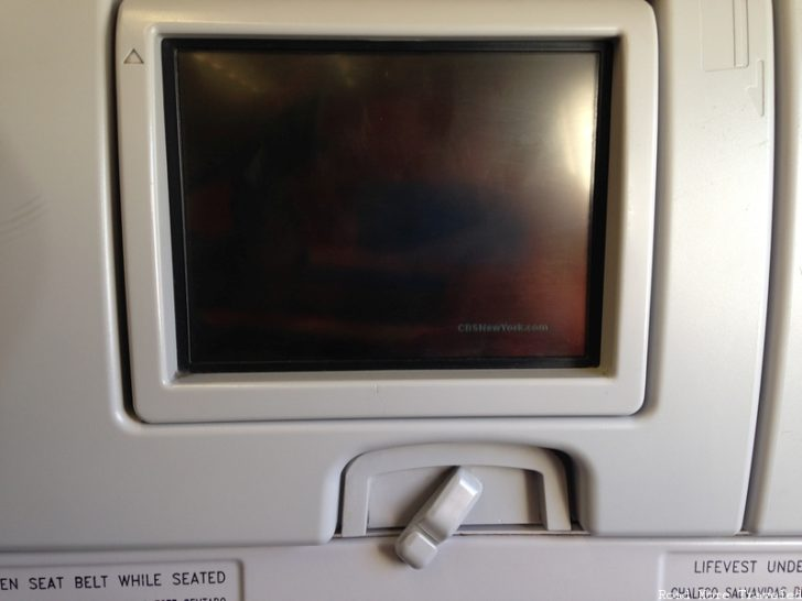 jetBlue Economy Class - in-seat screen