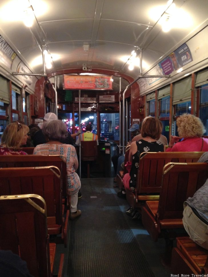 Baby Friendly Tour of New Orleans - St. Charles Streetcar