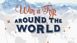 Win $50 a Day for the Ultimate Trip around the World
