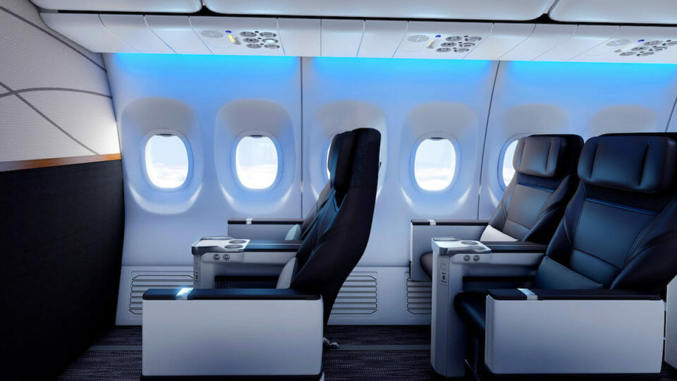 Alaska Airlines New First Class Details Features And Photos