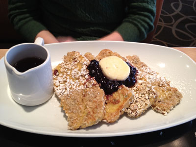 picture of a plate of French toast