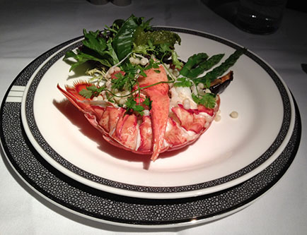 picture of lobster appetizer