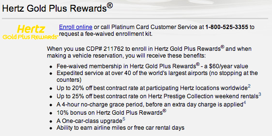 The Offer. Direct link to offer (might need to change country settings to Germany first) or try this link. Hertz is offering president circle status for free when you use the promo code Should work for new and existing users.