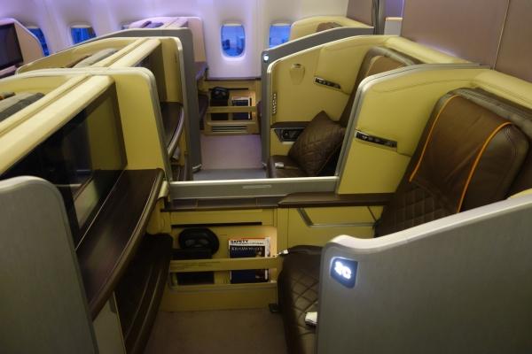 singapore airlines new first class singapore to mumbai