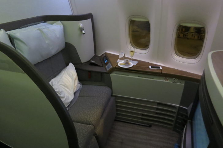 Cathay Pacific First Class on the 777-300ER