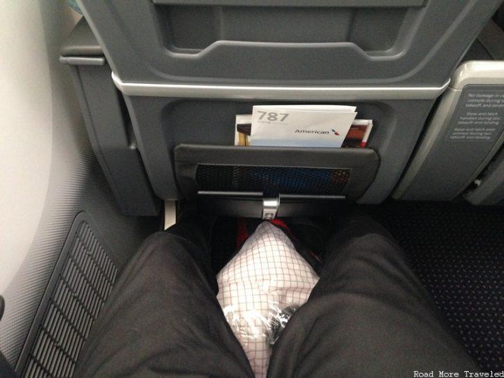 American Airlines Premium Economy legroom