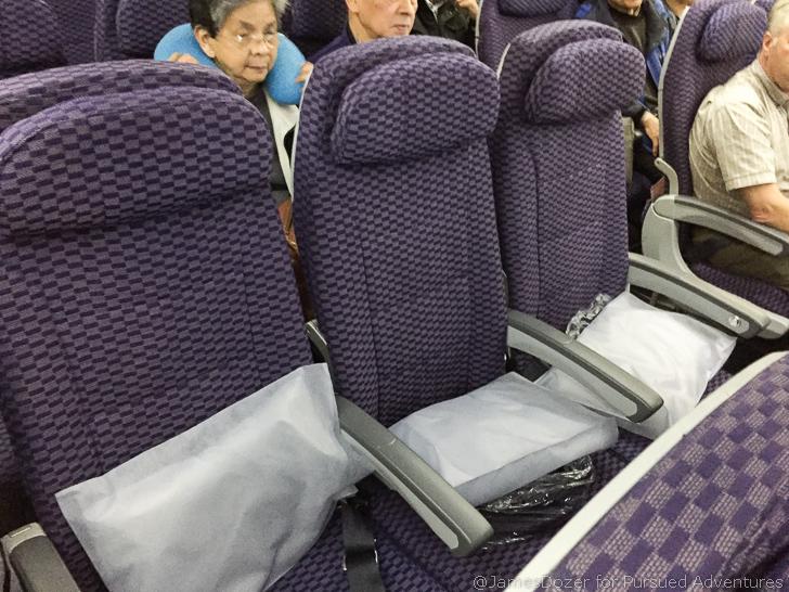 United 787 Economy Class